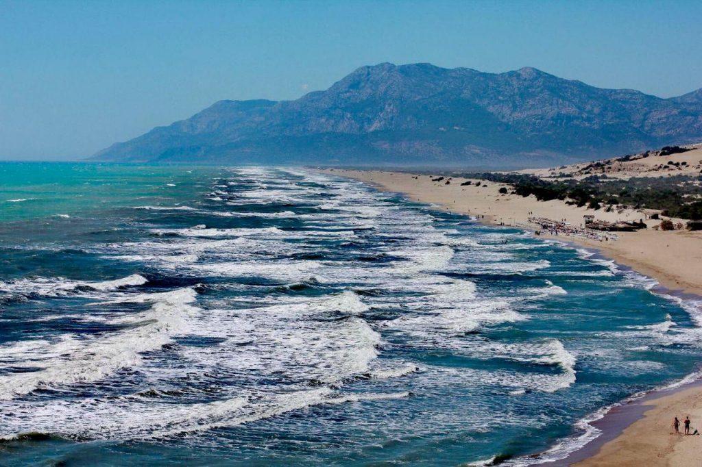 западная ликийская тропа маршрут восьмого дня проходит по побережью